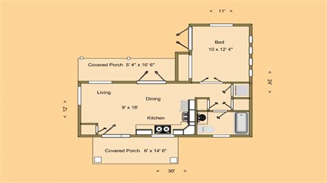 Small House Floor Plans Under 500 Sq Ft | very small house plans small house floor plans under 500