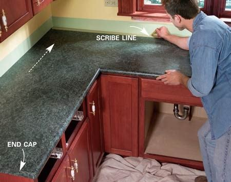 Install Formica Countertop by Install A Laminate Kitchen Countertop