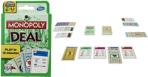 Monopoly Deal Card Kartu Monopoli monopoly deal card only 5 99 prime pantry 5 99 credit w no shipping