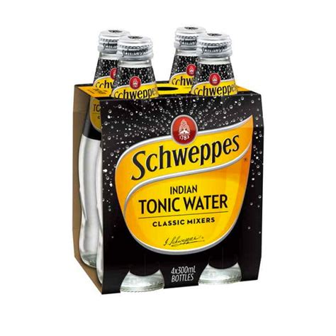 5 benefits of quinine or tonic water made man schweppes tonic water 4x300ml pack abbey cellars