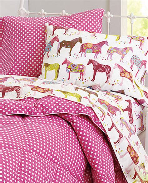 horse bedding for girls love the pony sheets and you can pair it with a more