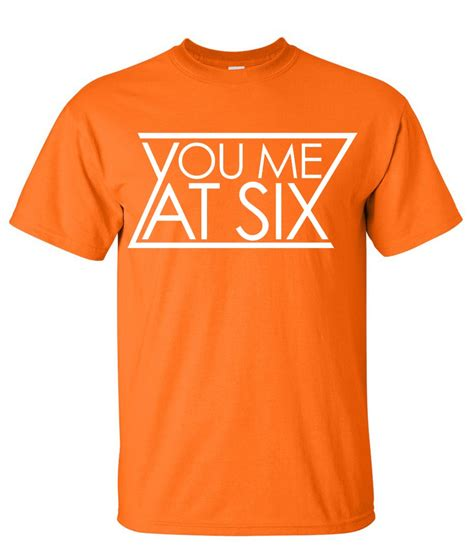 Yot T Shirt Size L you me at six band logo graphic t shirt supergraphictees
