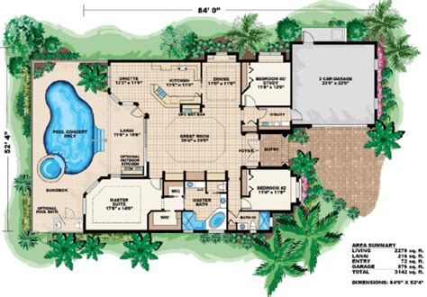 mediterranean house floor plans mediterranean style house plan 3 beds 2 00 baths 2278 sq