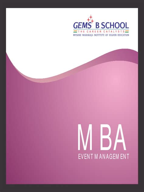 Mba In Event Management by Mba In Event Management Docshare Tips