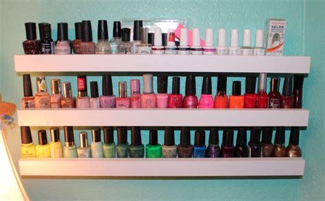 sincerely truly scrumptious diy nail polish rack