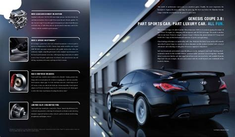 Hyundai Dealership Tn 2013 Hyundai Genesis Coupe Brochure Tn Knoxville Tn