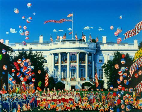 楽天市場 ヒロ ヤマガタ ホワイトハウス設立200周年 シルクスクリーン ギャラリーアートビジョン