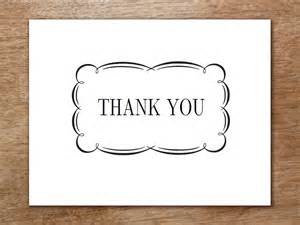 Thank You Card Template by Printable Thank You Cards Flourish