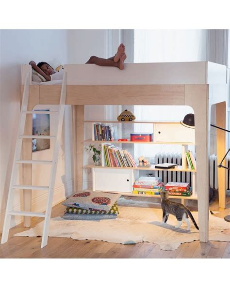 Bunk Beds Nyc Oeuf Nyc Perch Loft Mezzanine Bed Design Furniture For Children