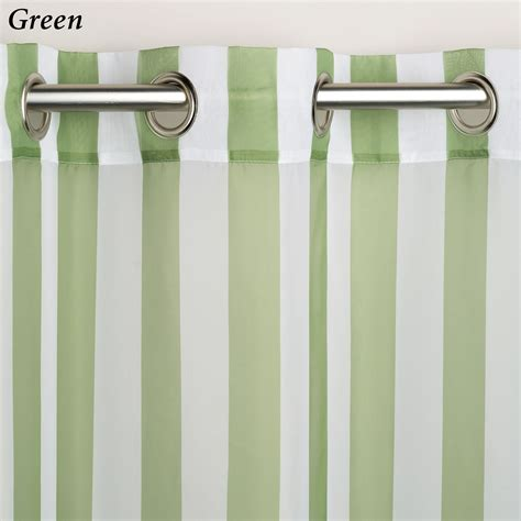 striped drapery panels escape stripe outdoor grommet curtain panels