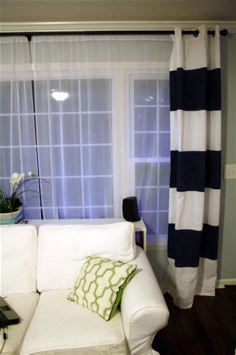 how to paint curtains how to paint striped curtain panels