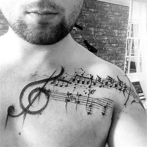 musical tattoo designs for guys 100 tattoos for manly designs with harmony