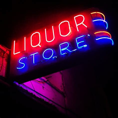 liquor signs liquor store with the best sign nyc newyorkcity newyor