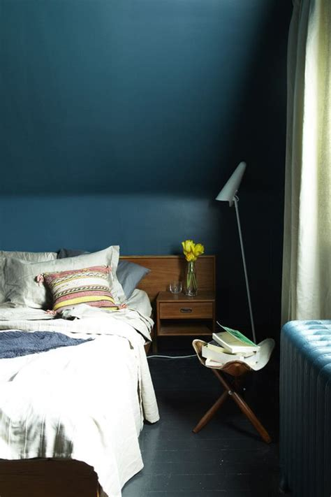 dark blue paint for bedroom dark and surprisingly soothing bedroom walls