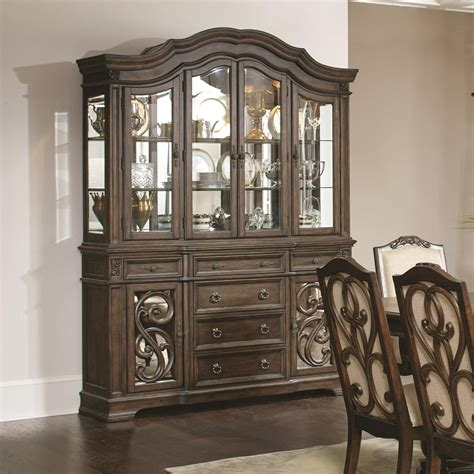 China Cabinets With Glass Doors Ilana Traditional China Cabinet With Glass Doors Quality Furniture At Affordable Prices In