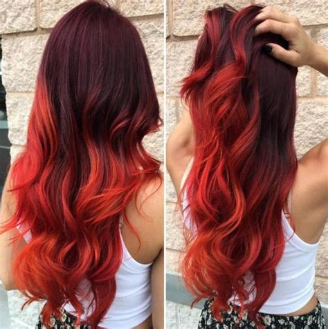 diy beauty from brown hair to bright red hair easy steps 20 bright red hairstyles that sizzle