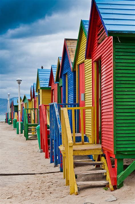 colorful beach houses at st james photograph by cliff c