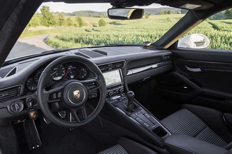 porsche 911 r interior 2016 porsche 911 r first drive review motor trend