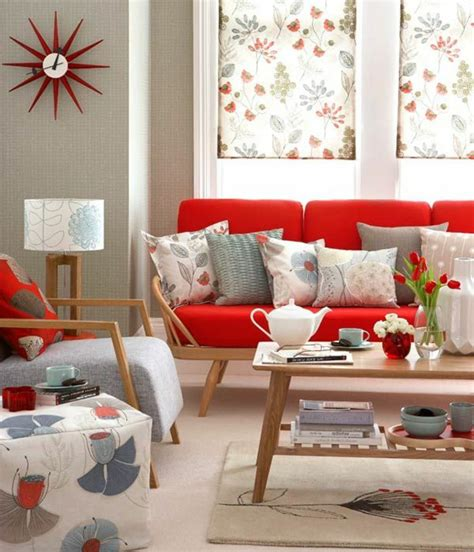 wohnzimmer mit rotem sofa sofa sofas in the interior design inspiring