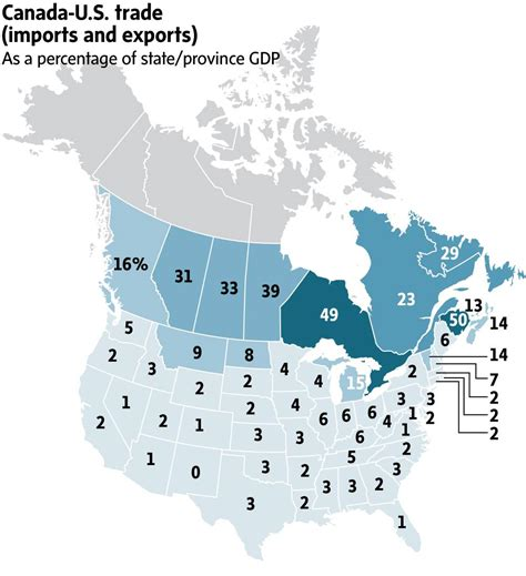 Getting Into A Canada With A Top Mba by How Much Trade Leverage Does Canada Really With The U
