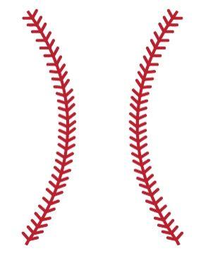 baseball stitches wall decals walltat com art without