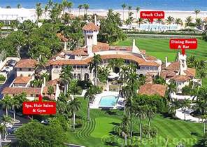 donald trumps home exclusive photos of donald trump s giant palm beach estate