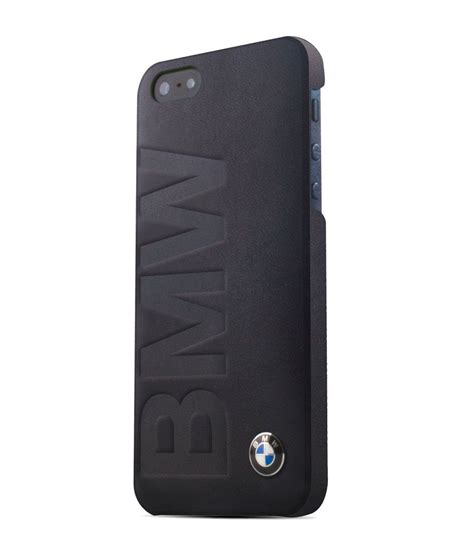 Iphone Iphone 5s Bmw Logo Cover bmw signature collection debossed logo leather black