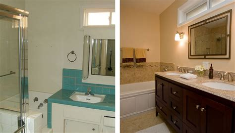 bathroom remodeling ideas before and after bathroom glamorous bathroom remodel pictures before and