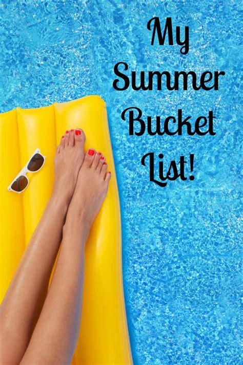 My Summer by My Summer List