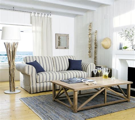 Inspired Rooms | 37 sea and beach inspired living rooms digsdigs
