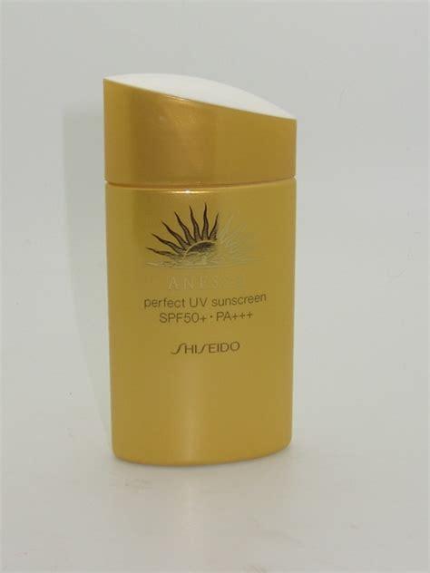 Shiseido Sunblock shiseido anessa uv sunscreen spf 50 review