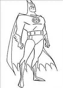 batman face colouring pages