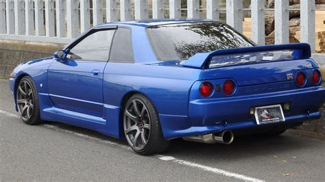 skyline nissan r32 nissan skyline gtr r32 bayside blue for sale import jdm