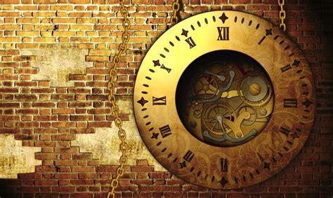 steampunk clock wall mural pixers    change