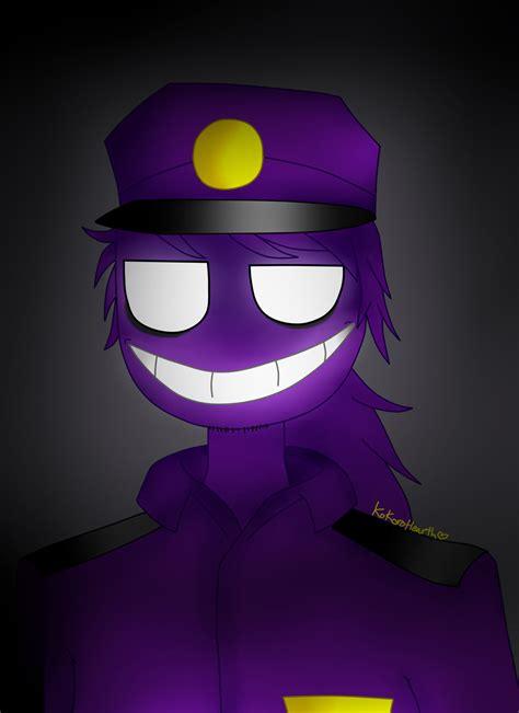 imagenes de vincent kawaii purple guy by kokorohearth on deviantart