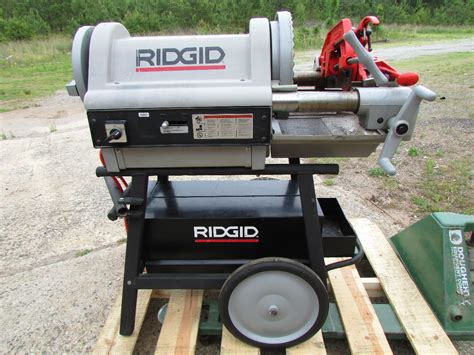 Threading Machine ridgid 1224 pipe threader threading machine 1 2 quot to 4
