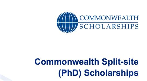 Scholarships Mba Belgian Citizens by Commonwealth Split Site Phd Scholarships 2016 For
