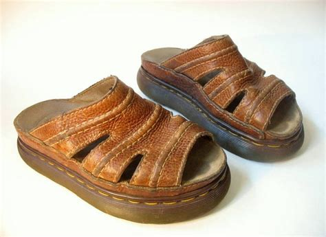 sandals from the 90s chunky doc martens early 90s sandals size 5 6 5 uk made