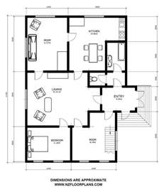 House Plan Dimensions Floor Plan With Dimensions House Floor Plan With