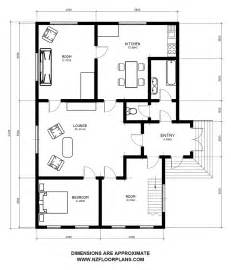 floor plan with dimensions residential plans single house