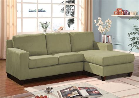 sage microfiber sofa vogue sage microfiber reversible chaise sectional sofa