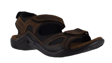 mens lightweight sandals mens leather lightweight casual summer velcro