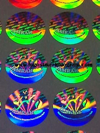 Stiker Hologram Bintang toko stiker murah cetak stiker stiker hologram design