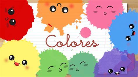 dibujos infantiles ingles colores en espa 209 ol para ni 241 os youtube