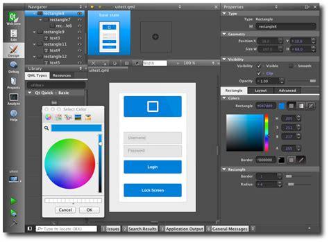 qt design editor qt creator for qt enterprise users qt blog