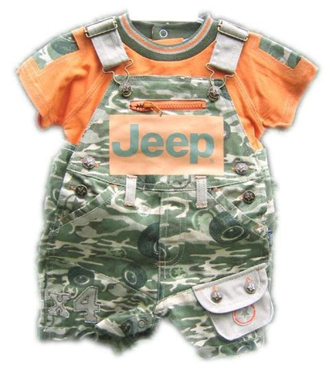 Zia Overall Set Orange images of camo baby clothes jeep baby clothing jeep