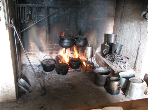 Cooking In The Fireplace by The Fireplace We Cook In 18th Century Fireplace