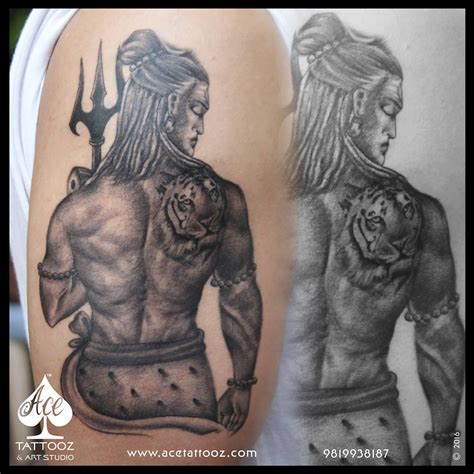 top 12 best lord shiva tattoo designs ace tattooz
