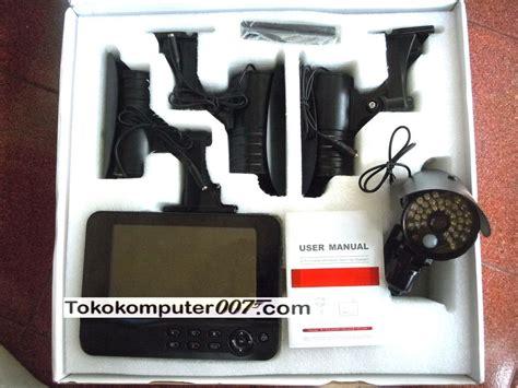 Paket Cctv Portable Merekam Adaptor Sdcard paket cctv wireless 4 channel kamera weatherproof tokokomputer007
