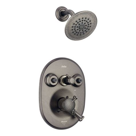 Faucet.com   T18240 PTXO in Aged Pewter by Delta